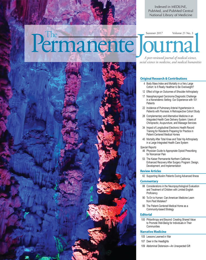 The Permanente Journal