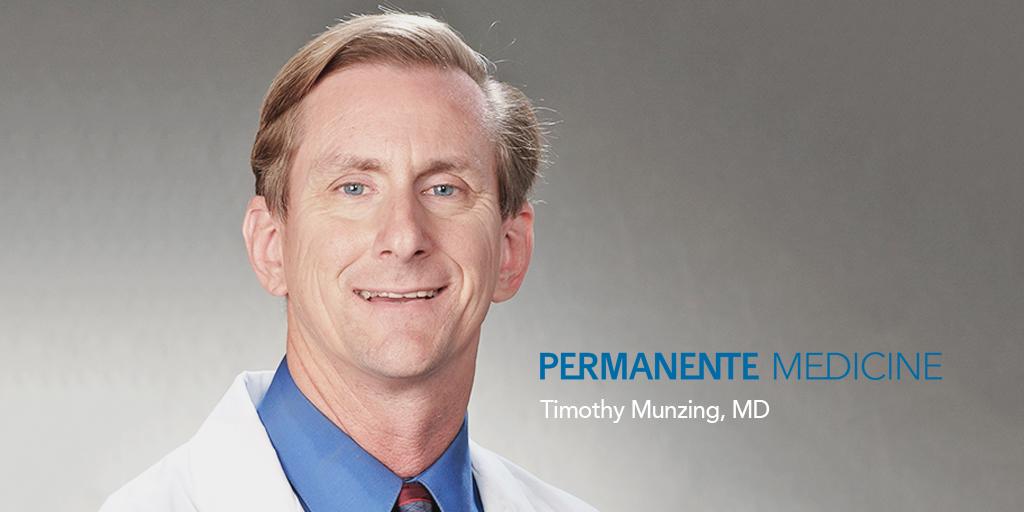 Inside Perspective: Timothy Munzing, MD - Permanente Medicine