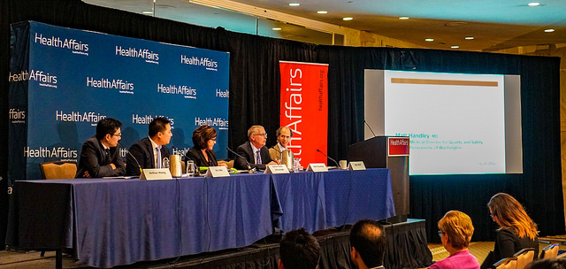 Matt Handley, MD, Presents At Health Affairs Briefing On Five-year Mark Of 'Choosing Wisely'