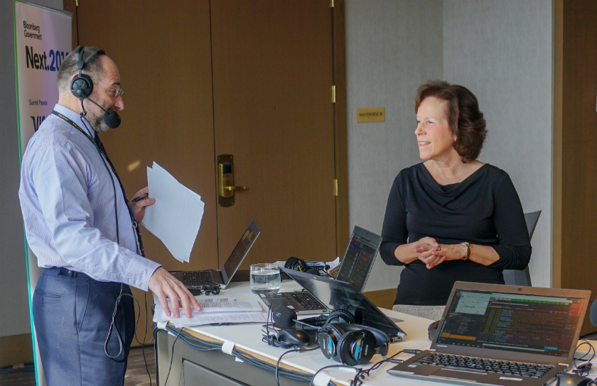 Patricia Conolly, MD, speaks on Bloomberg Radio on connected devices revolutionizing health care
