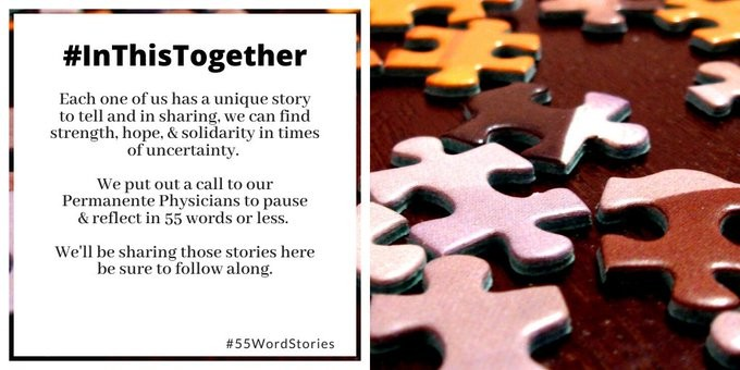 From The Front Lines: Permanente Physicians Share COVID-19 Experiences Through #55WordStories