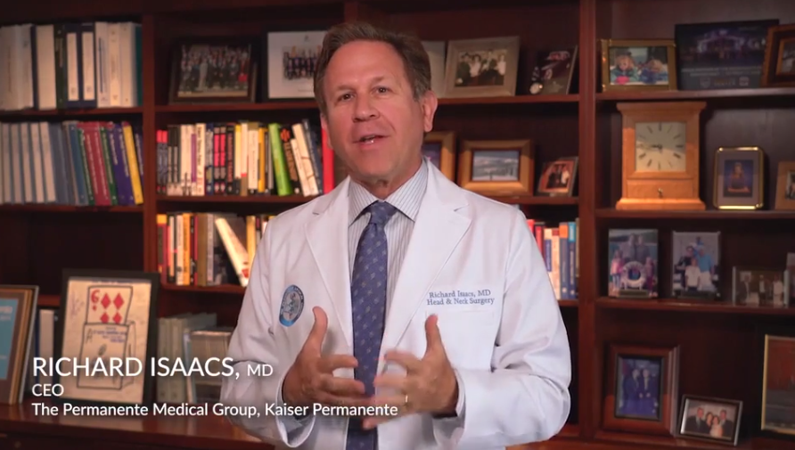 "Richard S. Isaacs, MD, FACS, Expresses Gratitude To Physicians And Staff In ""We Will Prevail"" Video"