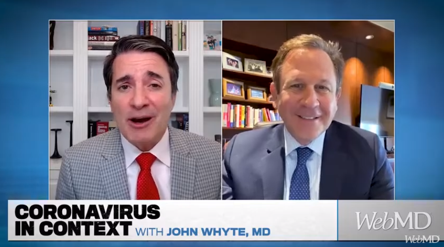 Richard Isaacs, MD, FACS, Discusses Path Ahead After Latest COVID-19 Surge With WebMD