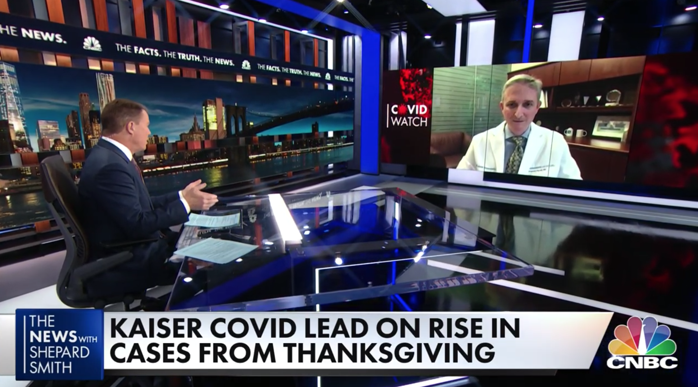 Stephen Parodi, MD, Warns Of Potential Post-holiday COVID-19 Surge On CNBC