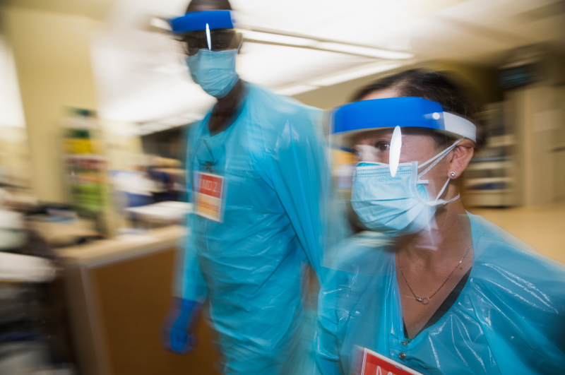 Hospital Workers During Pandemic