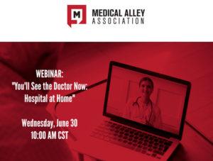 Medical Alley webinar information