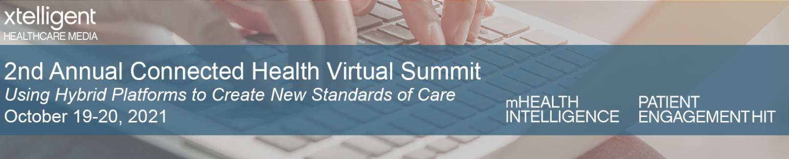 Connected Health Virtual Summit banner